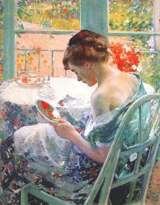 在法国呆了十五年,没有卖出一幅画的美国画家Richard Emil Miller插图1
