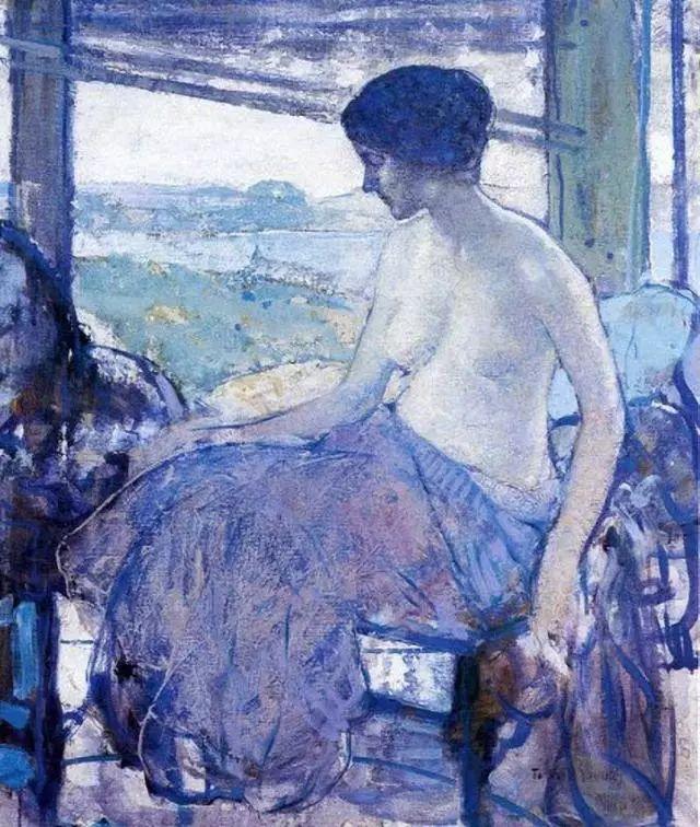 在法国呆了十五年,没有卖出一幅画的美国画家Richard Emil Miller插图7