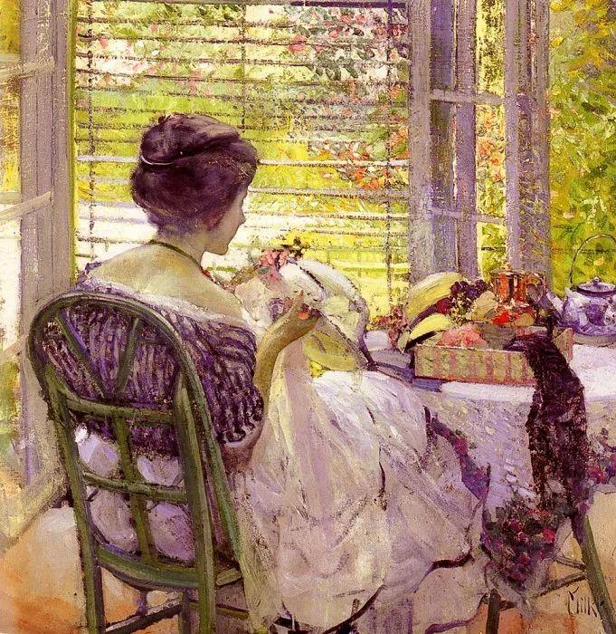 在法国呆了十五年,没有卖出一幅画的美国画家Richard Emil Miller插图8