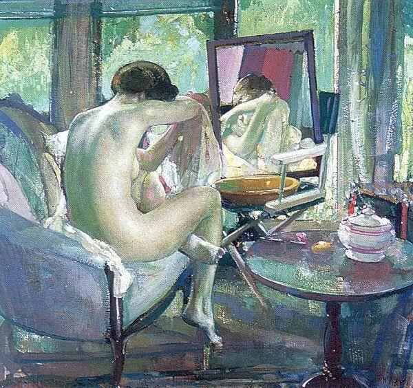 在法国呆了十五年,没有卖出一幅画的美国画家Richard Emil Miller插图10