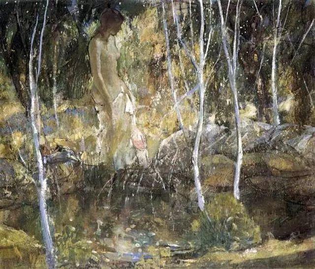 在法国呆了十五年,没有卖出一幅画的美国画家Richard Emil Miller插图11