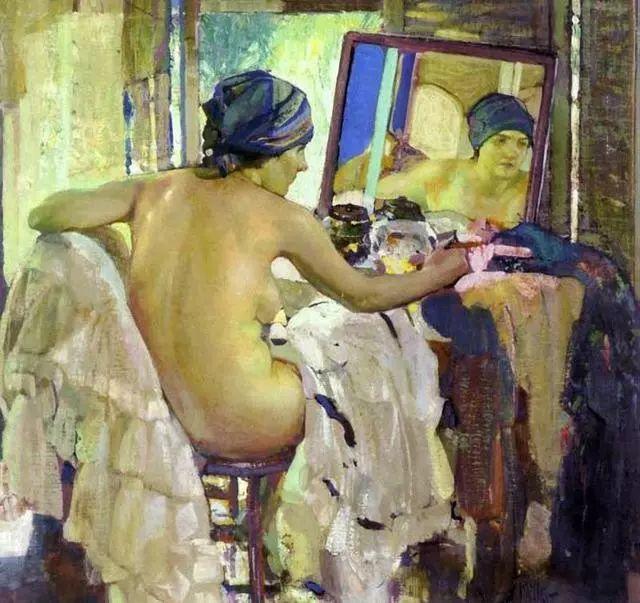 在法国呆了十五年,没有卖出一幅画的美国画家Richard Emil Miller插图12