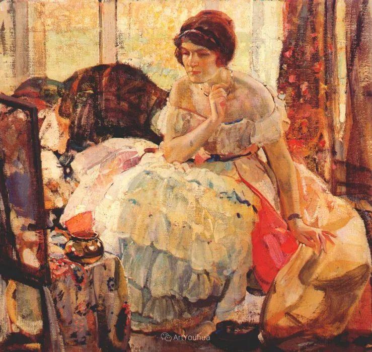 在法国呆了十五年,没有卖出一幅画的美国画家Richard Emil Miller插图14