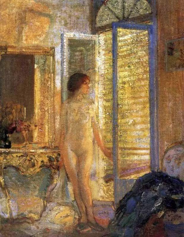 在法国呆了十五年,没有卖出一幅画的美国画家Richard Emil Miller插图15