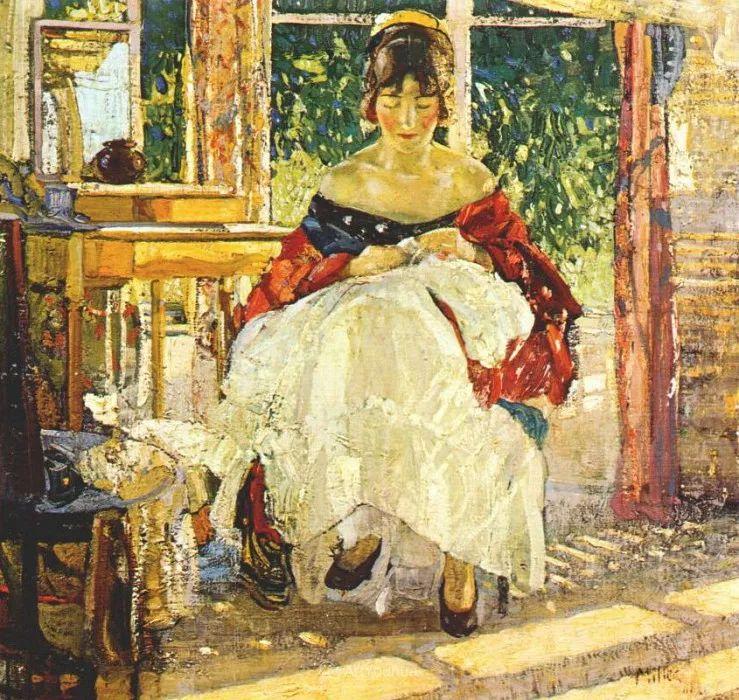 在法国呆了十五年,没有卖出一幅画的美国画家Richard Emil Miller插图16
