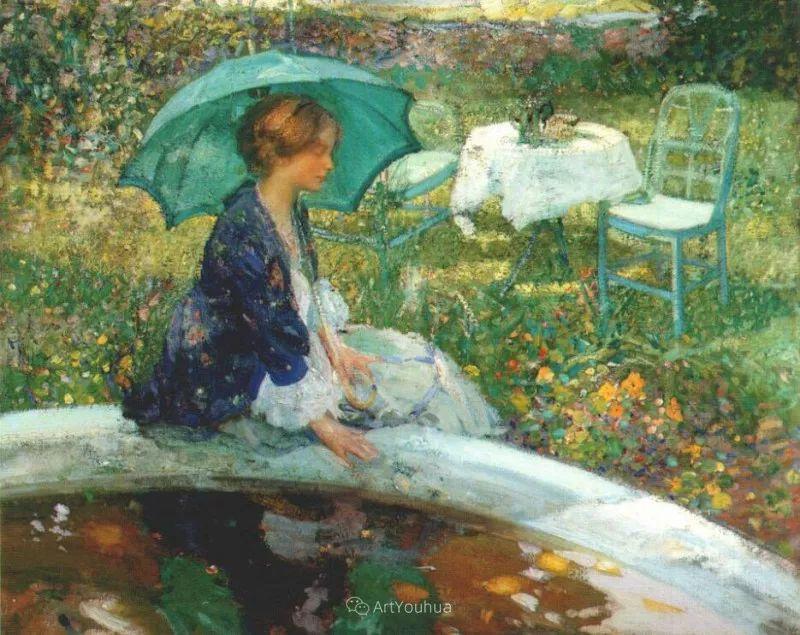 在法国呆了十五年,没有卖出一幅画的美国画家Richard Emil Miller插图17