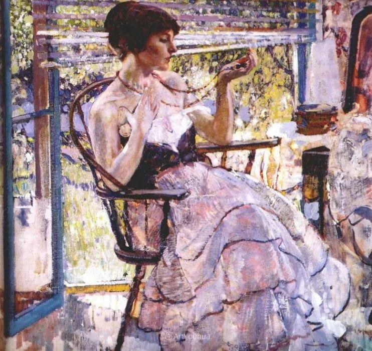 在法国呆了十五年,没有卖出一幅画的美国画家Richard Emil Miller插图19