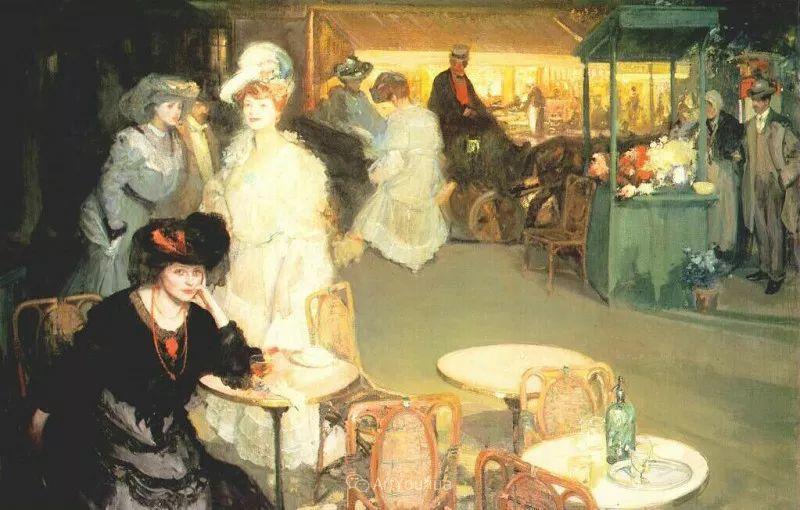 在法国呆了十五年,没有卖出一幅画的美国画家Richard Emil Miller插图21