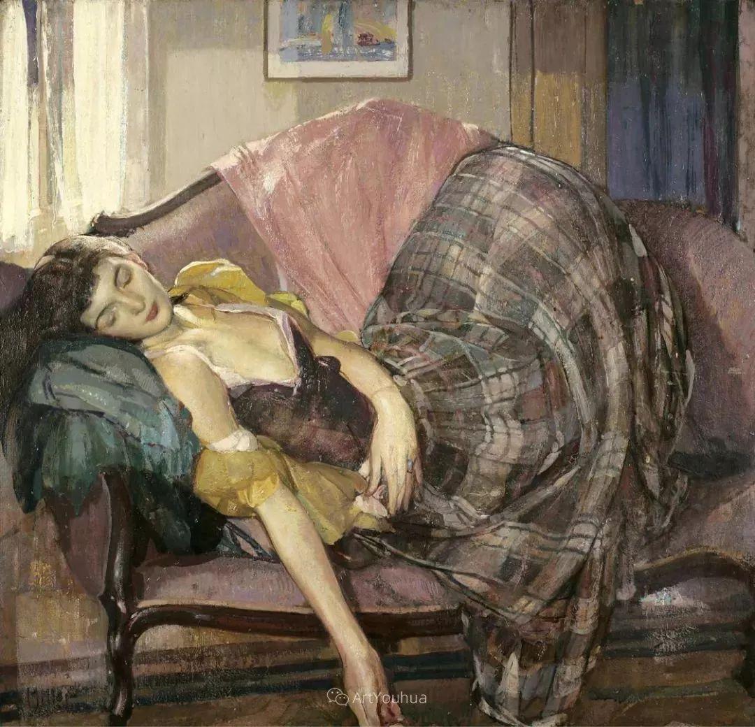 在法国呆了十五年,没有卖出一幅画的美国画家Richard Emil Miller插图24