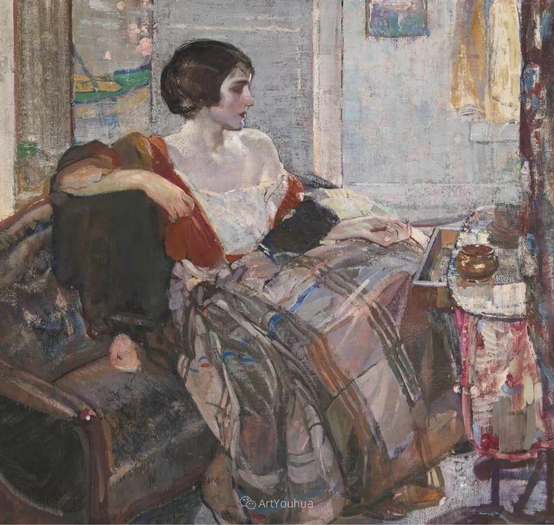 在法国呆了十五年,没有卖出一幅画的美国画家Richard Emil Miller插图25