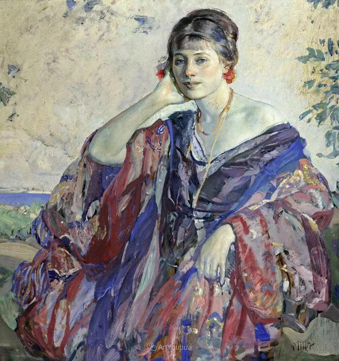 在法国呆了十五年,没有卖出一幅画的美国画家Richard Emil Miller插图26