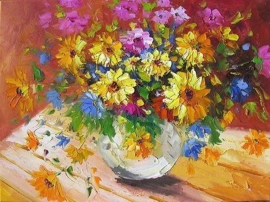 满目的绚丽色彩,加拿大女画家Marchella Piery插图1