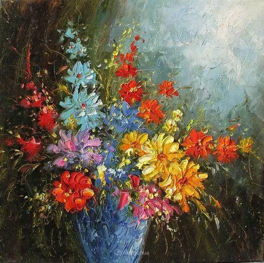 满目的绚丽色彩,加拿大女画家Marchella Piery插图9