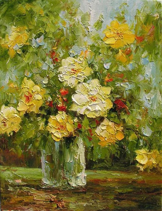 满目的绚丽色彩,加拿大女画家Marchella Piery插图33