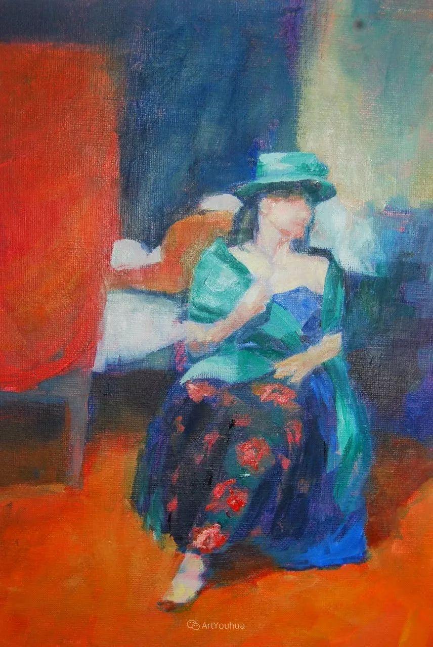 充满活力的感性粉彩 美国印象派女画家Margaret Dyer插图5