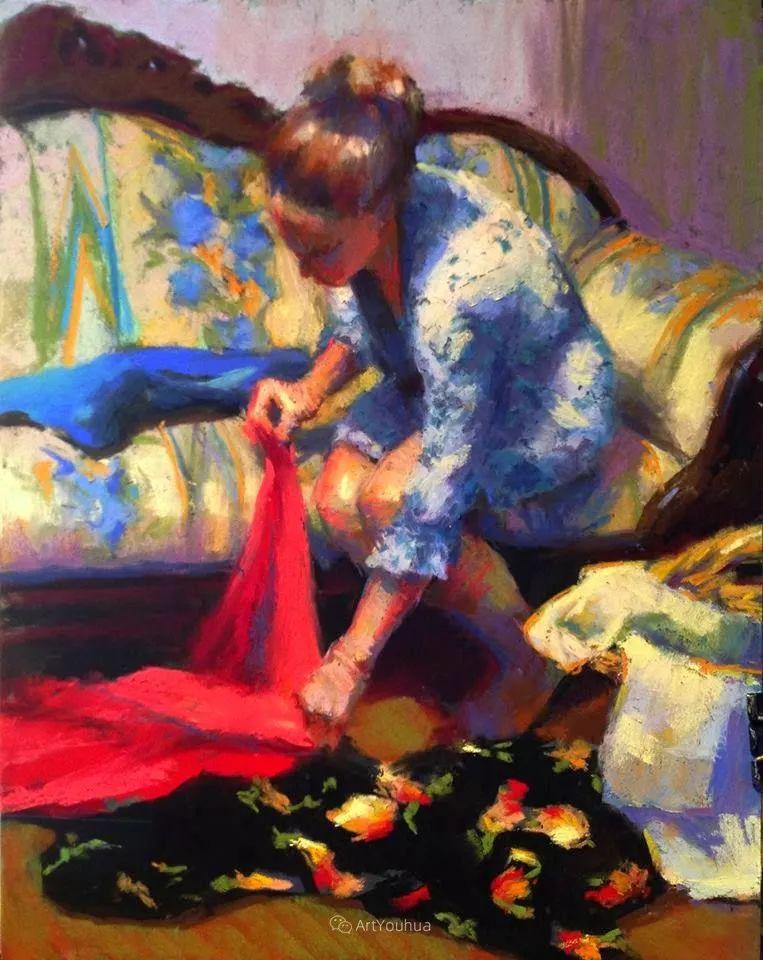充满活力的感性粉彩 美国印象派女画家Margaret Dyer插图7