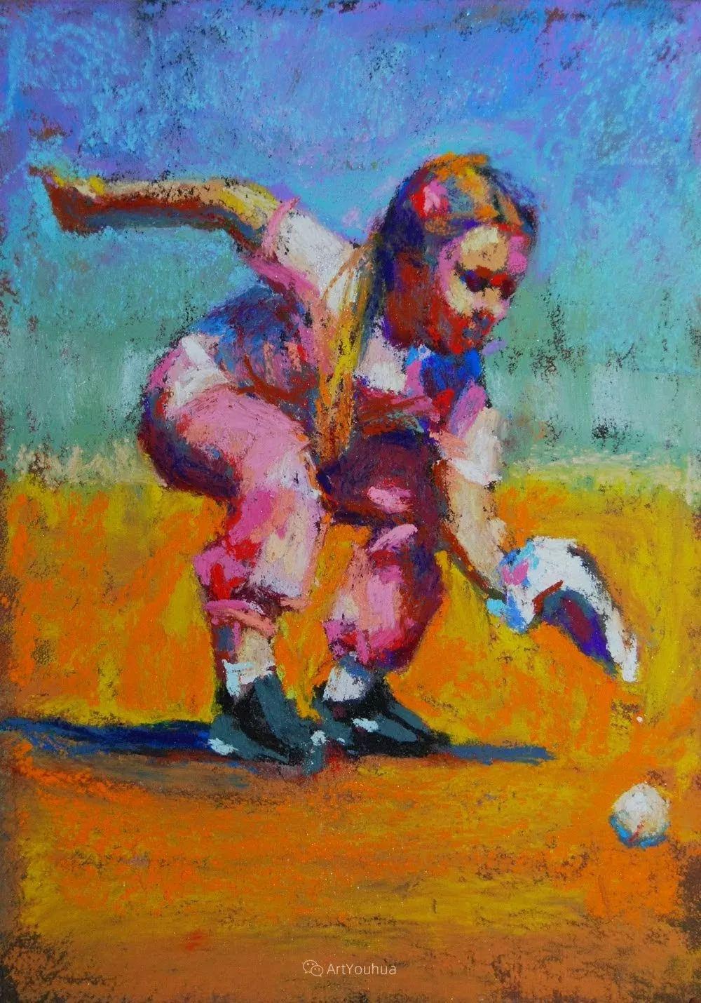 充满活力的感性粉彩 美国印象派女画家Margaret Dyer插图9