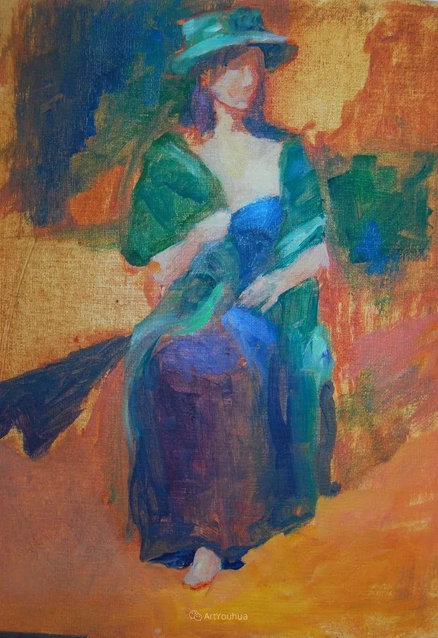 充满活力的感性粉彩 美国印象派女画家Margaret Dyer插图11