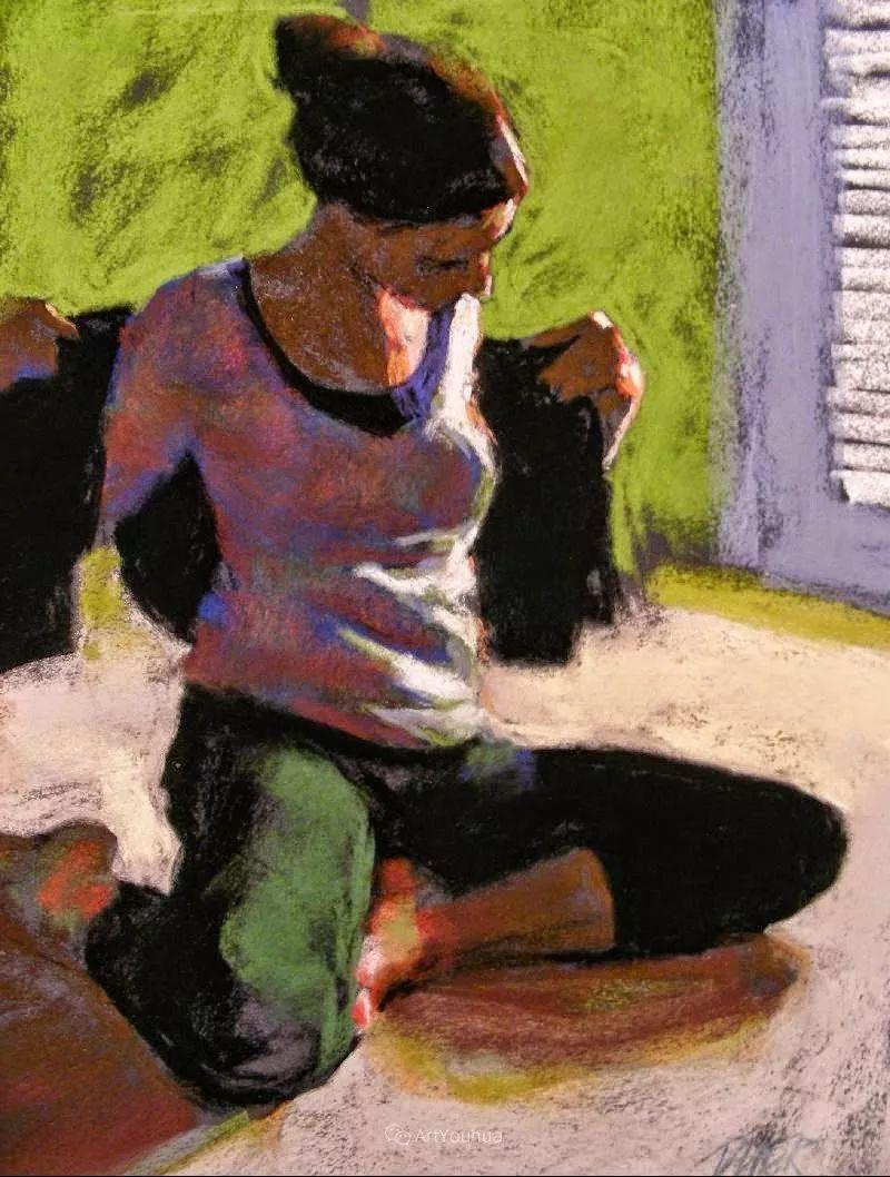 充满活力的感性粉彩 美国印象派女画家Margaret Dyer插图13