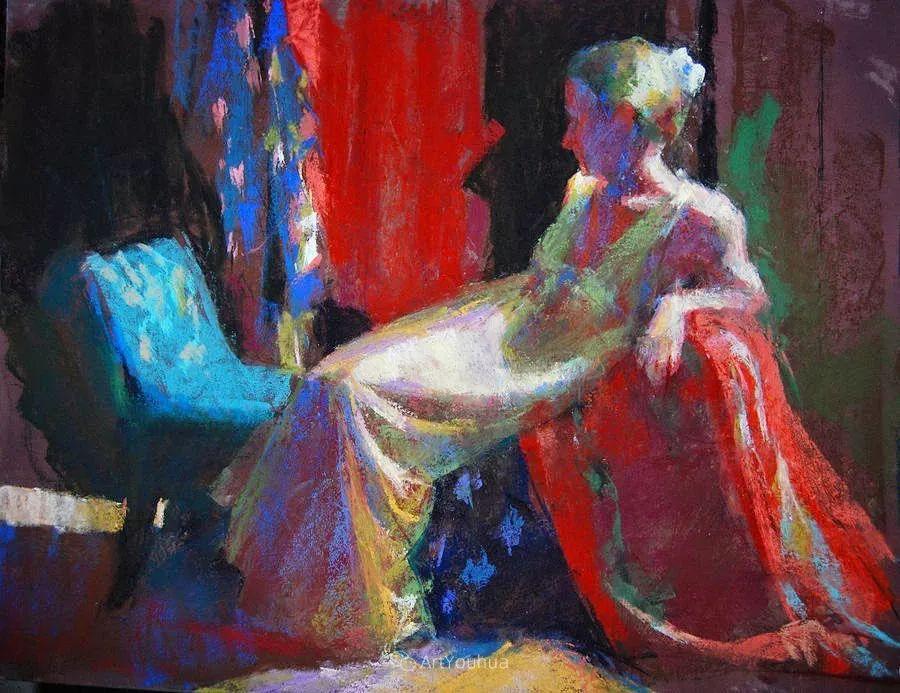 充满活力的感性粉彩 美国印象派女画家Margaret Dyer插图17