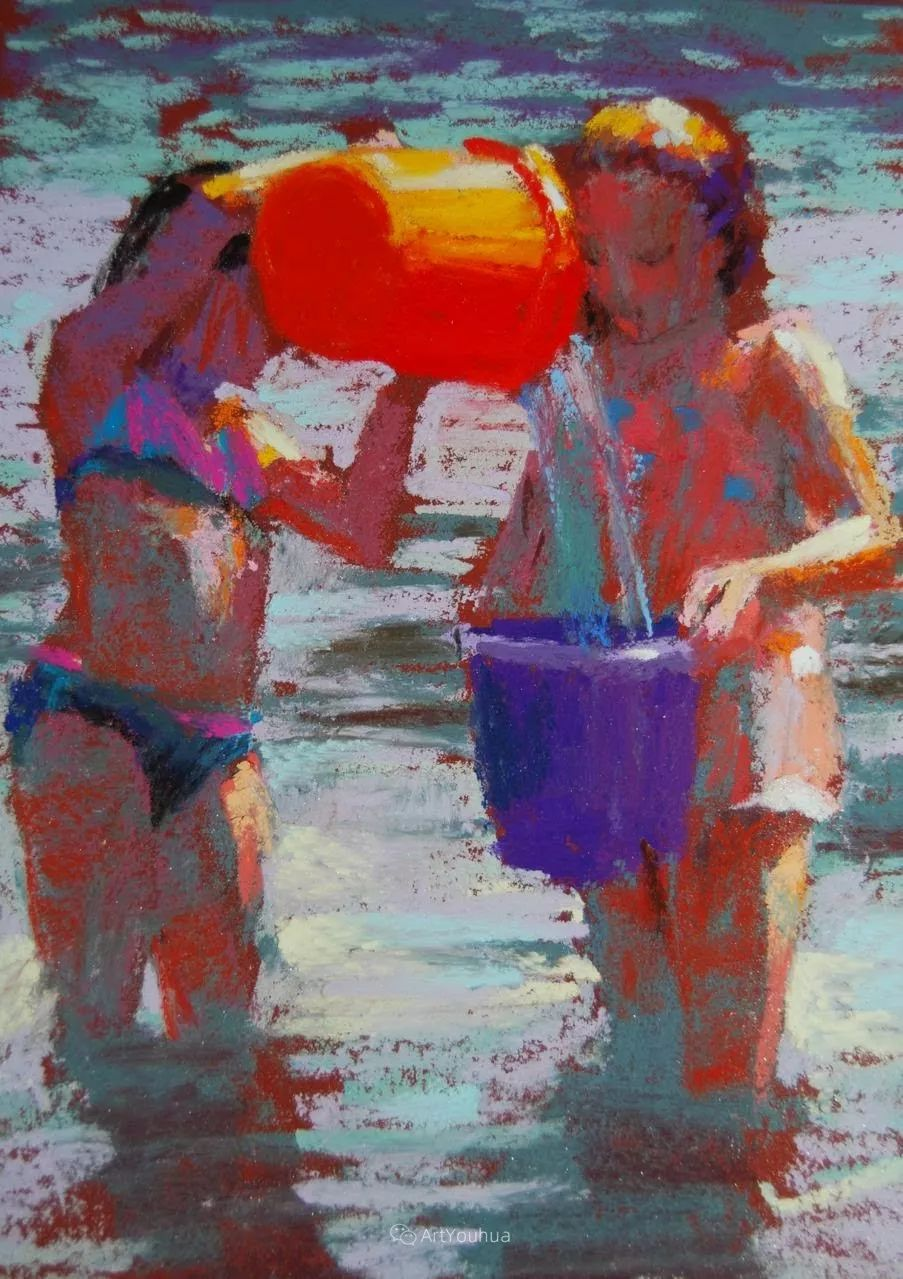 充满活力的感性粉彩 美国印象派女画家Margaret Dyer插图19