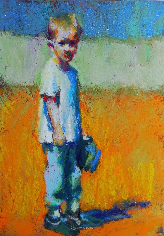 充满活力的感性粉彩 美国印象派女画家Margaret Dyer插图21