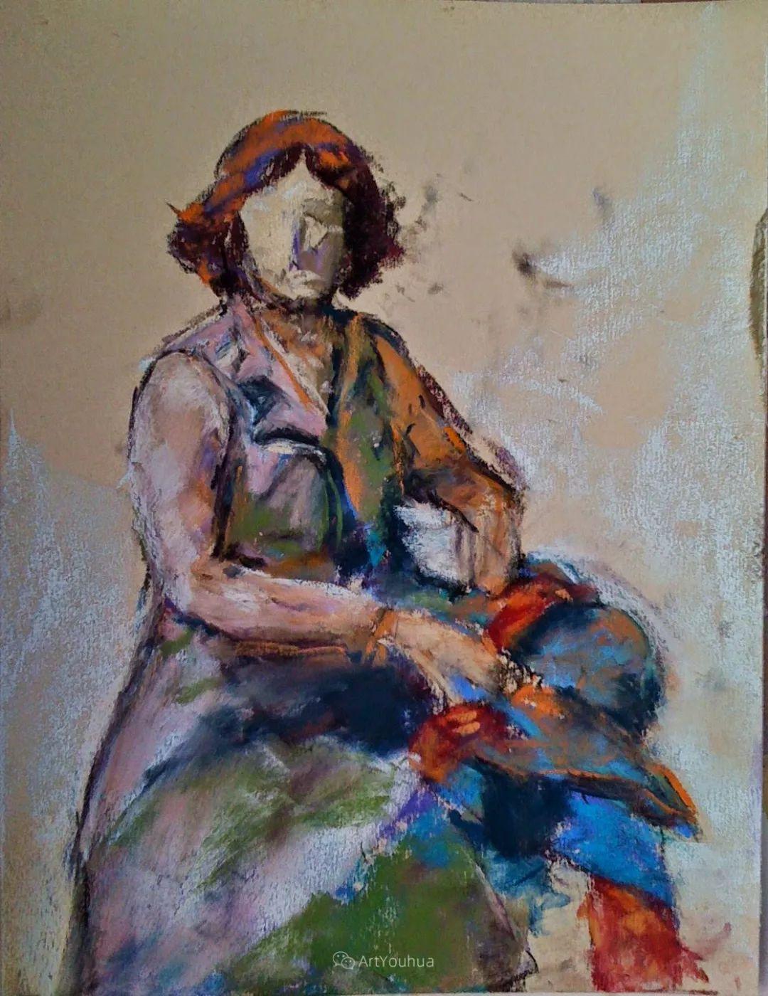 充满活力的感性粉彩 美国印象派女画家Margaret Dyer插图23