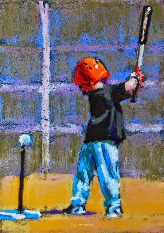 充满活力的感性粉彩 美国印象派女画家Margaret Dyer插图25