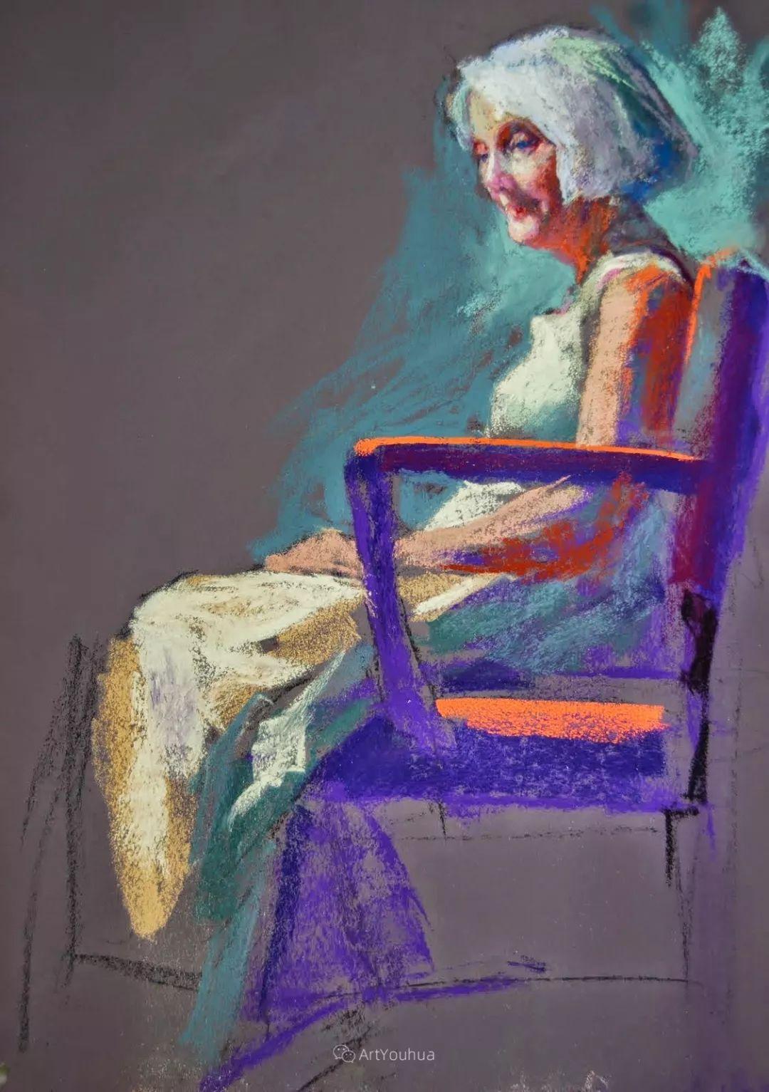 充满活力的感性粉彩 美国印象派女画家Margaret Dyer插图27