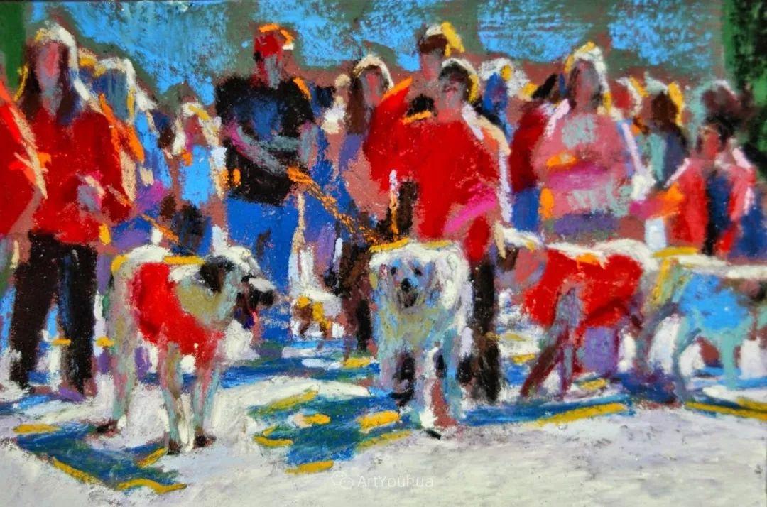 充满活力的感性粉彩 美国印象派女画家Margaret Dyer插图31