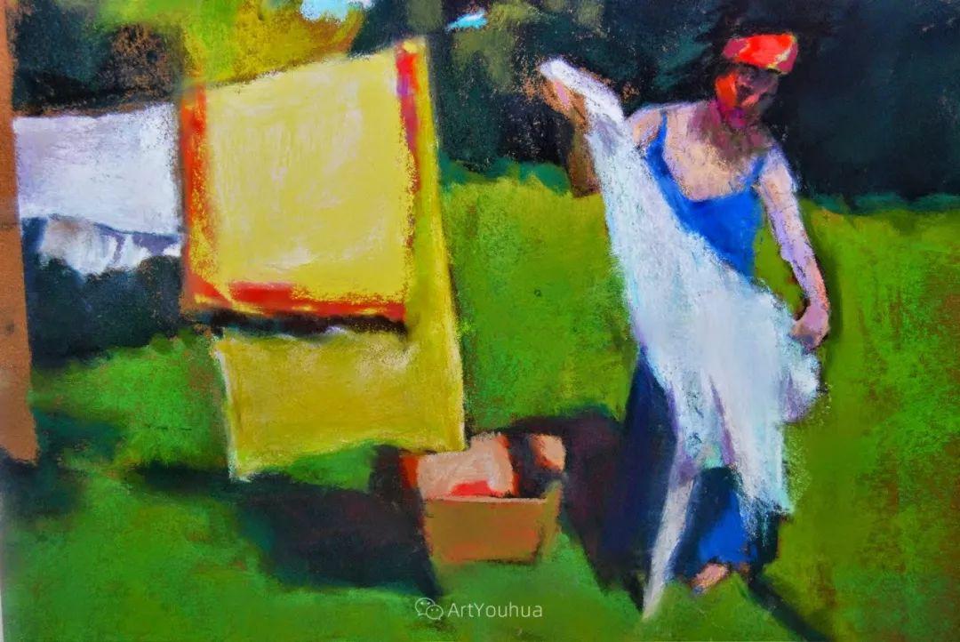 充满活力的感性粉彩 美国印象派女画家Margaret Dyer插图33