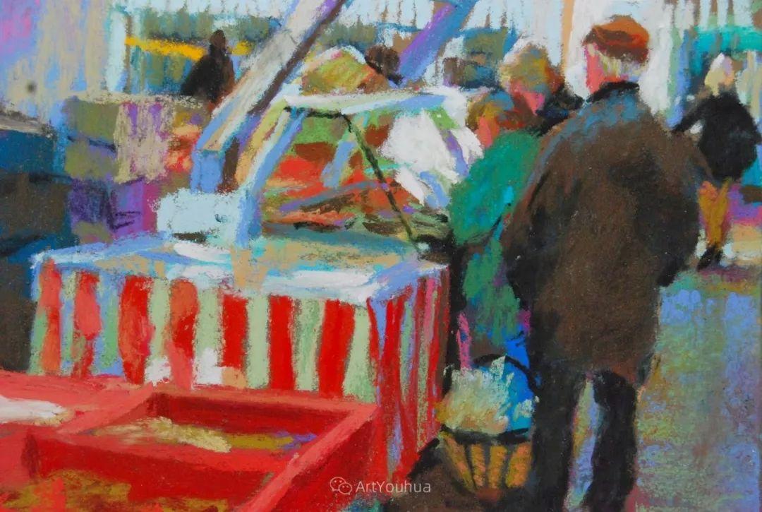 充满活力的感性粉彩 美国印象派女画家Margaret Dyer插图37