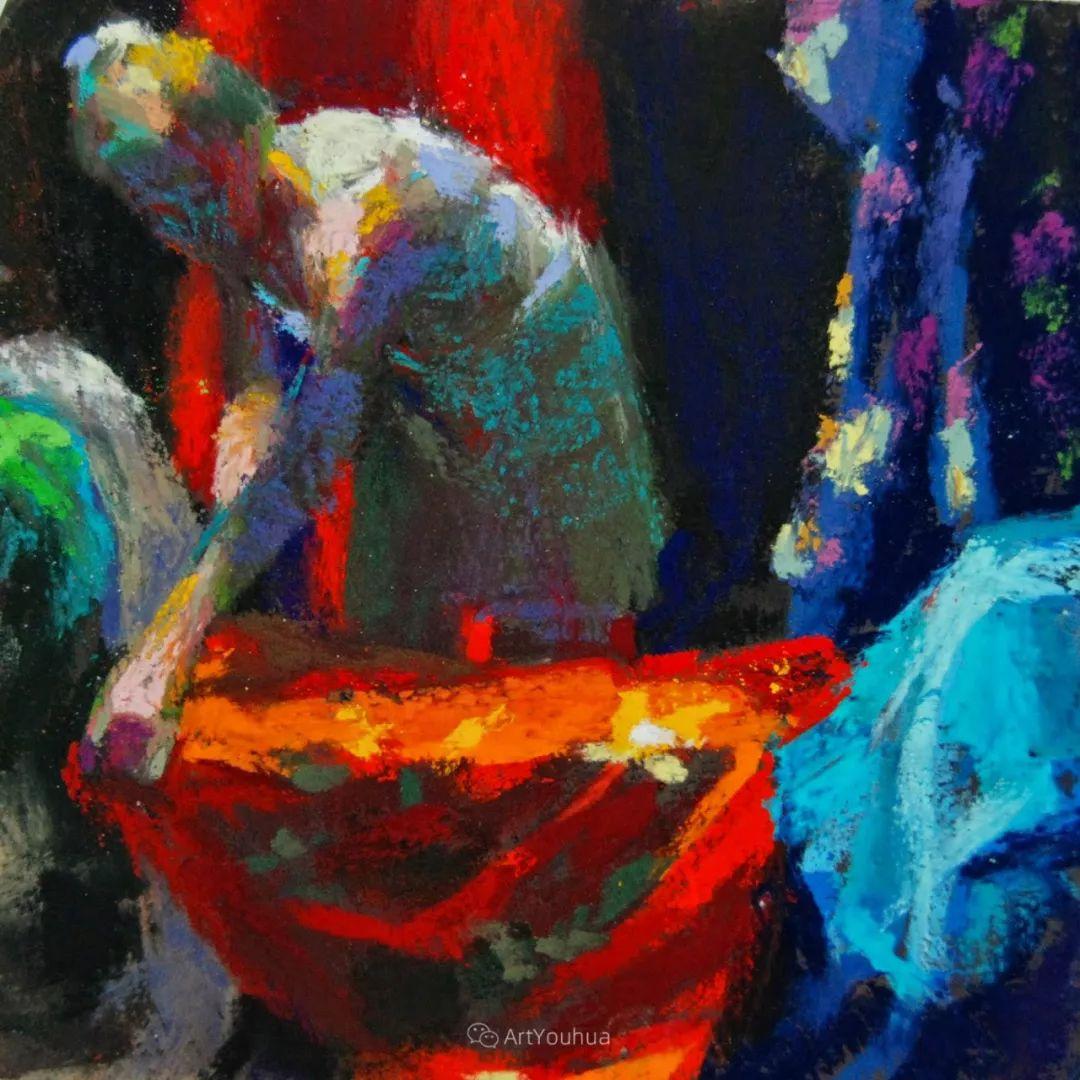 充满活力的感性粉彩 美国印象派女画家Margaret Dyer插图45