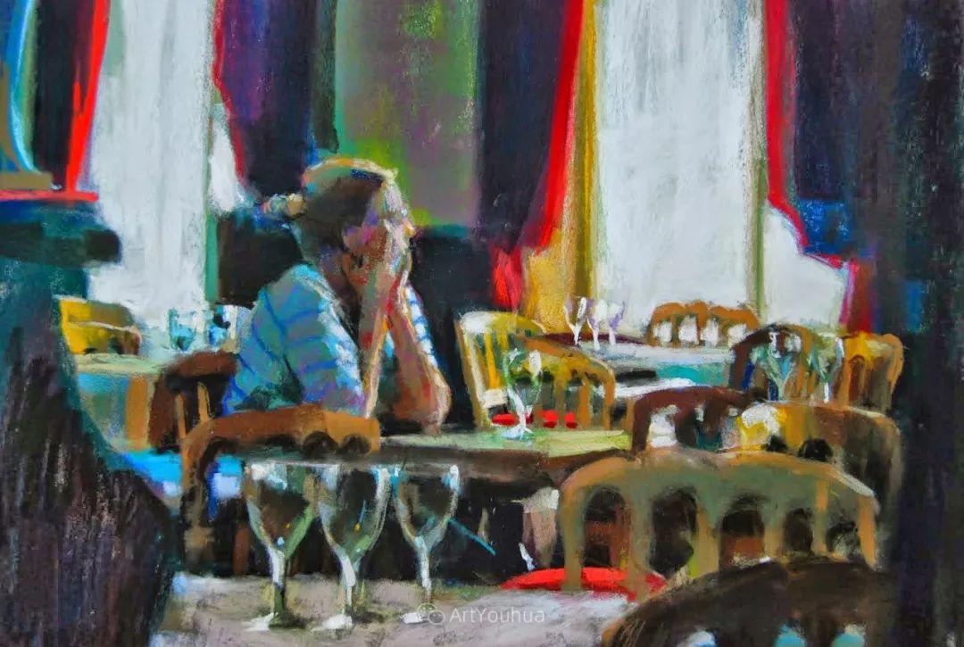 充满活力的感性粉彩 美国印象派女画家Margaret Dyer插图49