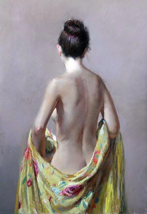 粉彩之美,西班牙艺术家桑塔曼斯的绘画作品插图1