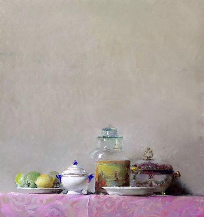 粉彩之美,西班牙艺术家桑塔曼斯的绘画作品插图3