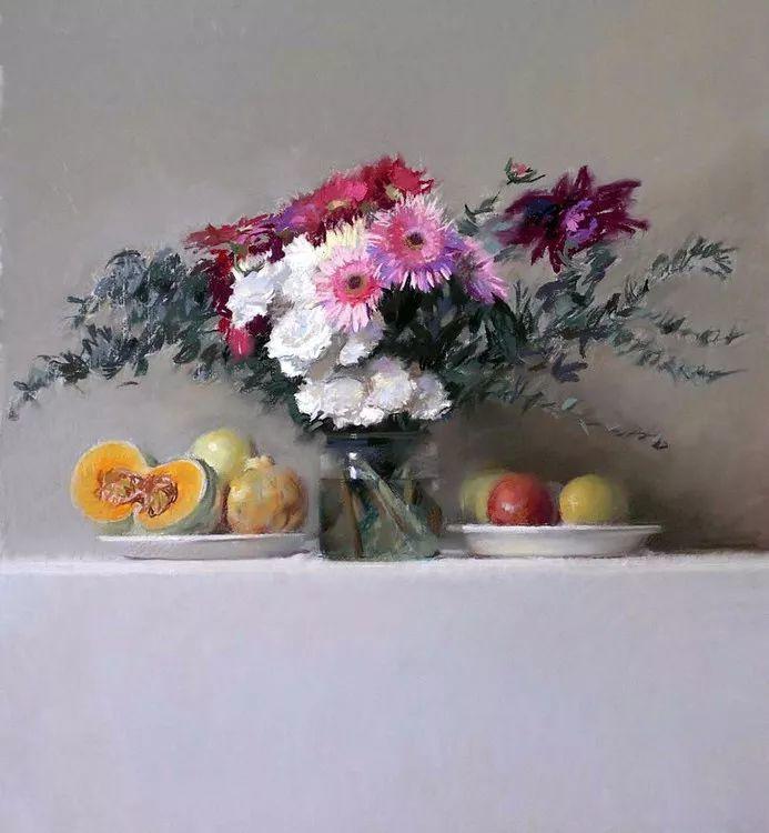 粉彩之美,西班牙艺术家桑塔曼斯的绘画作品插图4