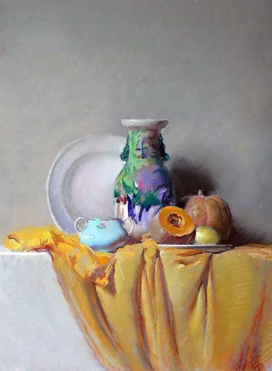 粉彩之美,西班牙艺术家桑塔曼斯的绘画作品插图5