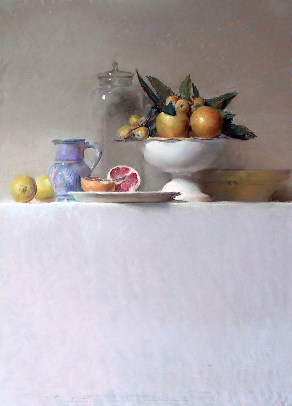 粉彩之美,西班牙艺术家桑塔曼斯的绘画作品插图6