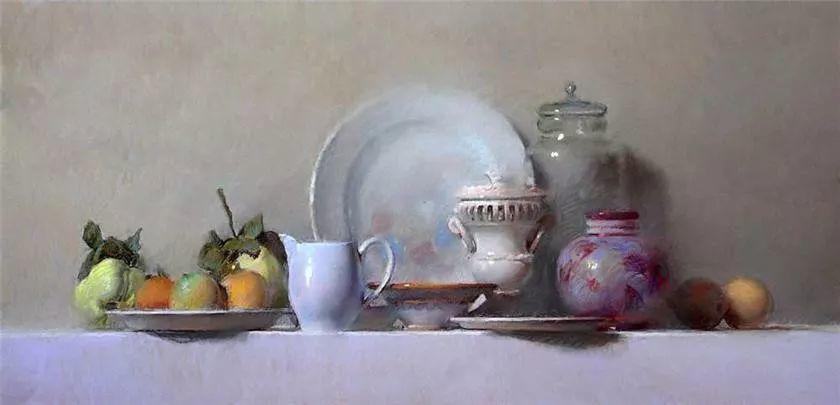 粉彩之美,西班牙艺术家桑塔曼斯的绘画作品插图11