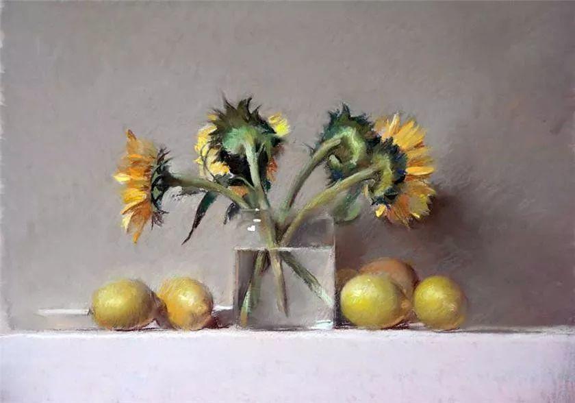 粉彩之美,西班牙艺术家桑塔曼斯的绘画作品插图17