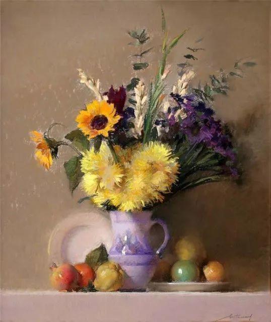 粉彩之美,西班牙艺术家桑塔曼斯的绘画作品插图18