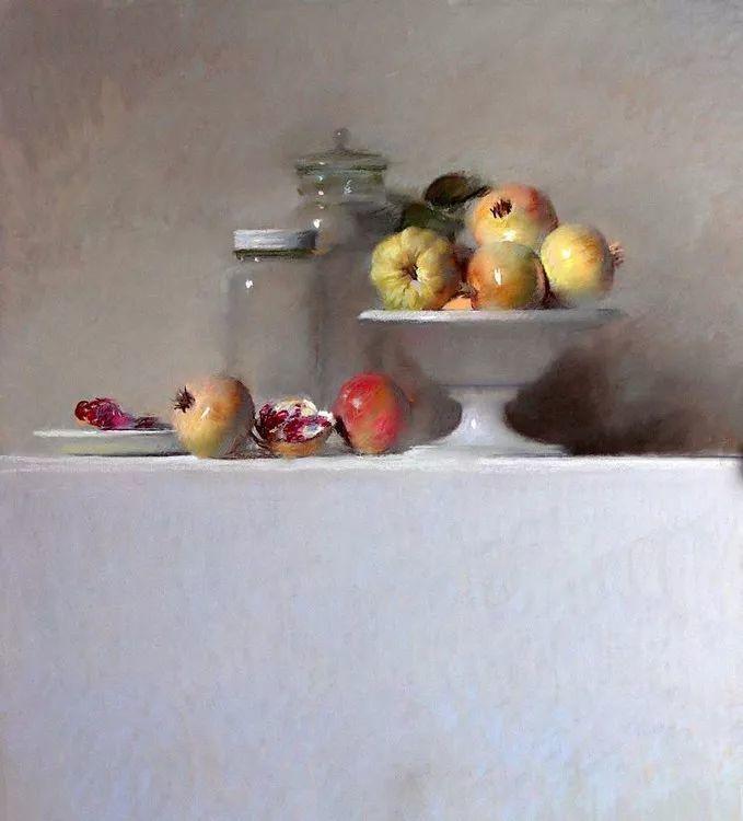 粉彩之美,西班牙艺术家桑塔曼斯的绘画作品插图20