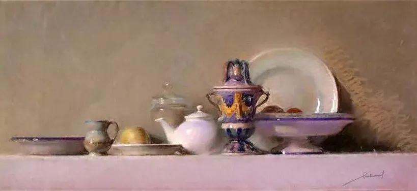 粉彩之美,西班牙艺术家桑塔曼斯的绘画作品插图21
