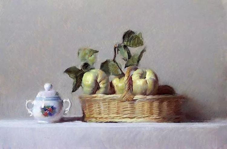 粉彩之美,西班牙艺术家桑塔曼斯的绘画作品插图23