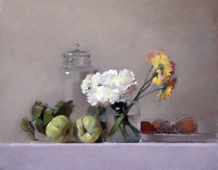 粉彩之美,西班牙艺术家桑塔曼斯的绘画作品插图27