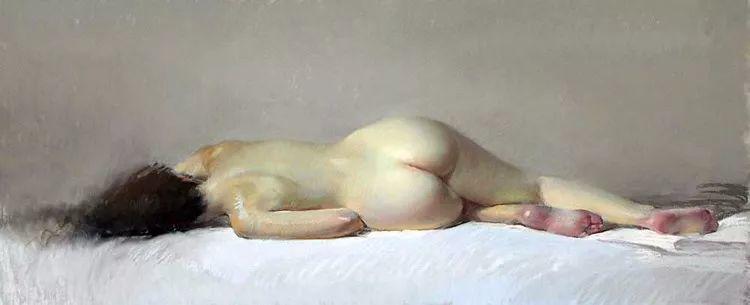 粉彩之美,西班牙艺术家桑塔曼斯的绘画作品插图29