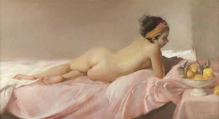 粉彩之美,西班牙艺术家桑塔曼斯的绘画作品插图31