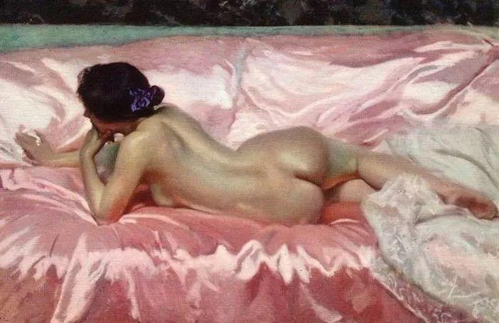 粉彩之美,西班牙艺术家桑塔曼斯的绘画作品插图34