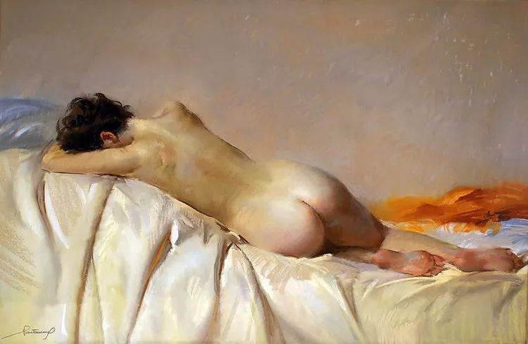 粉彩之美,西班牙艺术家桑塔曼斯的绘画作品插图36